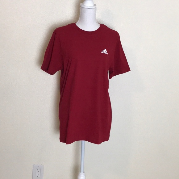 adidas Other - NWT | mens Adidas tee | red shirt | New short tee